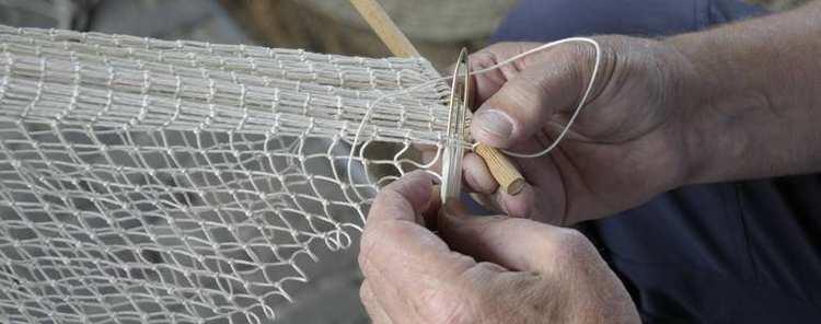 Breien van een net
